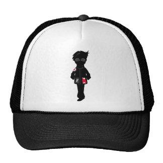 Cool Mod in Silhouette Trucker Hat