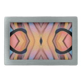 Cool Modern Chic Artistic Pattern Rectangular Belt Buckle
