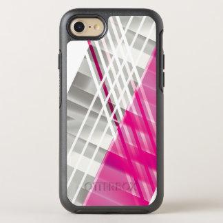 Cool Modern Diagonal Stripes OtterBox Symmetry iPhone 8/7 Case