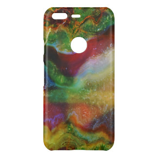 Cool Modern Earth Tones Agate Stone 4a Uncommon Google Pixel Case