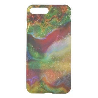 Cool Modern Earth Tones Agate Stone Print iPhone 8 Plus/7 Plus Case