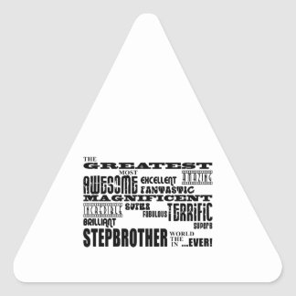 Cool Modern Fun Stepbrothers  Greatest Stepbrother Sticker