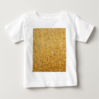 COOL MODERN GOLD WITH GLITTER BABY T-Shirt