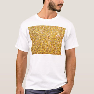 COOL MODERN GOLD WITH GLITTER T-Shirt