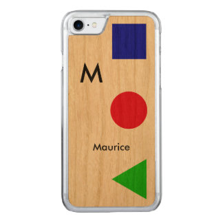 cool, modern, graphic and carved iPhone 7 case