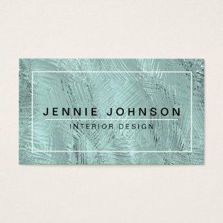 Cool Modern Interior Designer Business Card