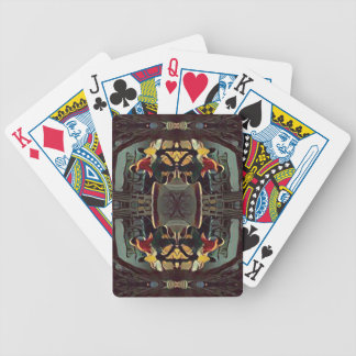 Cool Modern Masculine Hip Pattern Poker Deck
