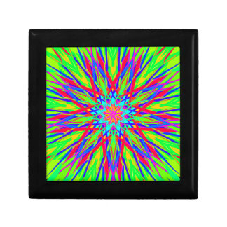 Cool Modern Radiating Artistic Abstract Gift Box