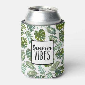 Cool modern tropical botanical summer vibes can cooler