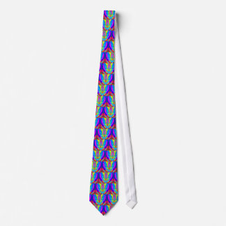 Cool Modern Vibrant Symmetrical Abstract Tie