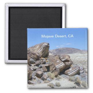 Cool Mojave Desert Magnet! Square Magnet