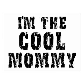 Cool Mommy Postcard
