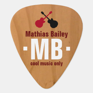 cool monogram plectrum