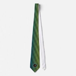 Cool Monogram Retro Striped Ties