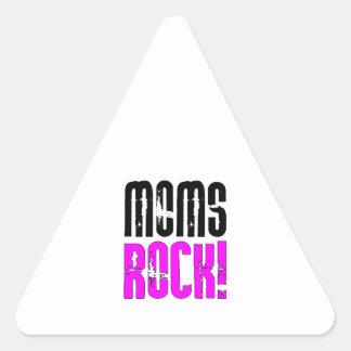Cool Mothers Day Birthdays Christmas Moms Rock Sticker