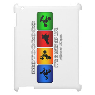 Cool Motocross It Is A Way Of Life Cover For The iPad 2 3 4