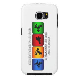 Cool Motocross It Is A Way Of Life Samsung Galaxy S6 Cases