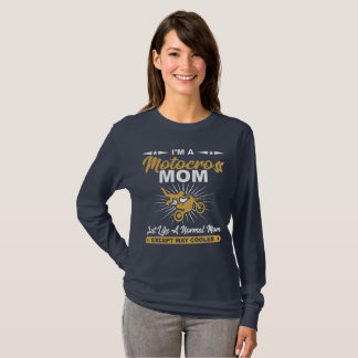 Cool Motocross Mom Gift Shirt