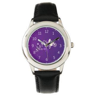 Cool Motorcyclist | Purple Watch