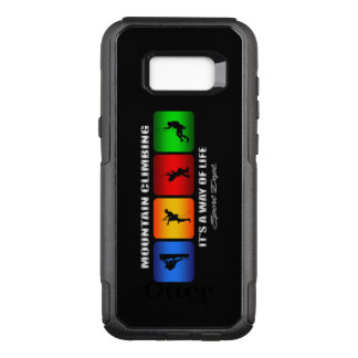 Cool Mountain Climbing It Is A Way Of Life OtterBox Commuter Samsung Galaxy S8+ Case