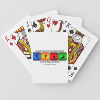 Cool Mountain Climbing It Is A Way Of Life Playing Cards