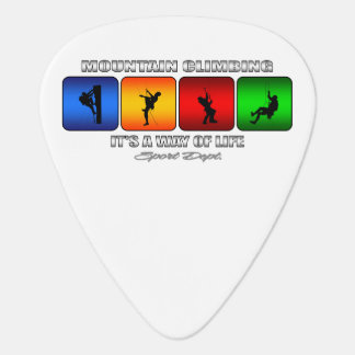 Cool Mountain Climbing It Is A Way Of Life Plectrum