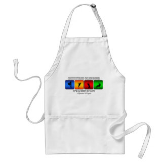 Cool Mountain Climbing It Is A Way Of Life Standard Apron