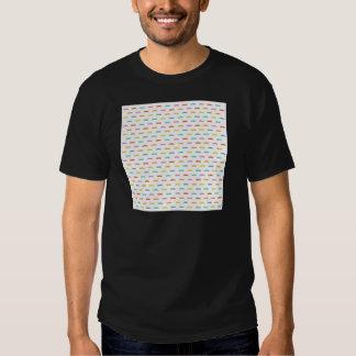 cool moustache pattern tee shirt