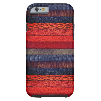 Cool multi colorful texture design tough iPhone 6 case