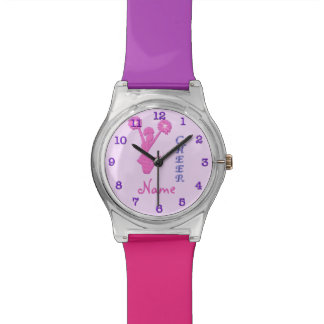 Cool Multicolored Personalized Cheerleader Watch