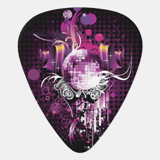 cool music design guitar pick. Black Bedroom Furniture Sets. Home Design Ideas