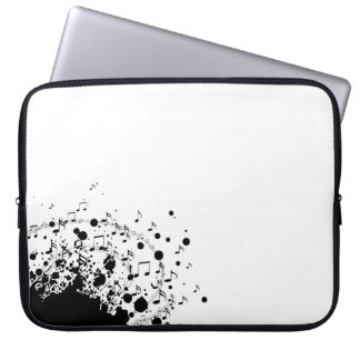 cool music explosion design laptop sleeve