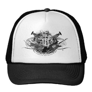 Cool Musical Instruments Mesh Hat