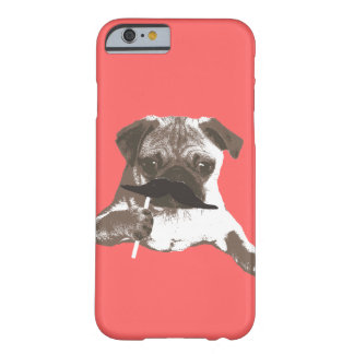 Cool Mustache Pug iPhone 6 case Barely There iPhone 6 Case