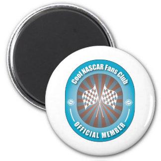 Cool NASCAR Fans Club Magnet