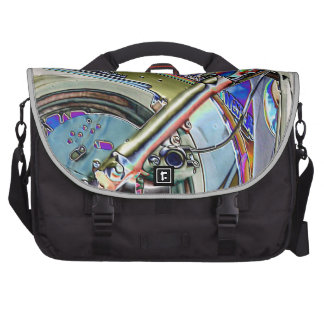 Cool Neon Bright Biker Motorcycle Graphic Commuter Bags
