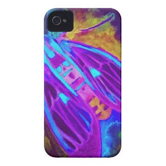 Cool Neon Insect/Bug Electric Painted Nature iPhone 4 Case