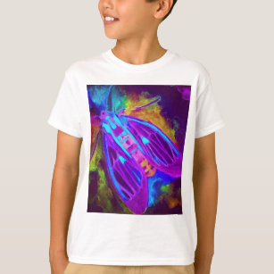 Cool Neon Insect/Bug Electric Painted Nature T-Shirt