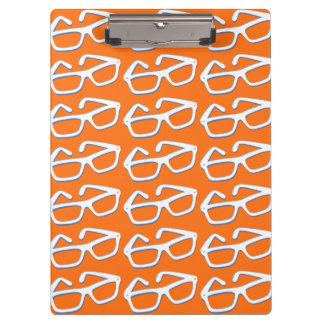 Cool Nerd Glasses Clipboard
