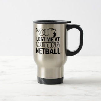 Cool Netball designs Travel Mug