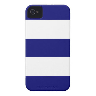 Cool New Navy Blue & White iPhone Case Gift iPhone 4 Covers