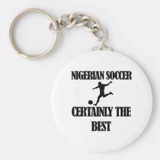cool Nigerian soccer designs Keychain