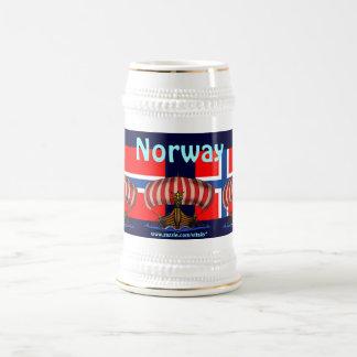 Cool Norway beer mug design