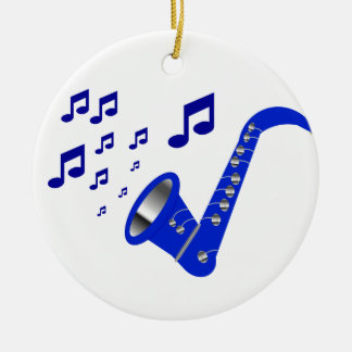 Cool Notes Ceramic Ornament