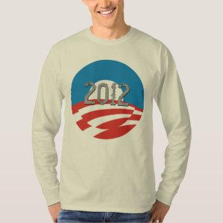 Cool Obama Logo Long Sleeve T-Shirt