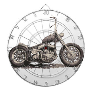 Cool Old Motorbike Dartboards