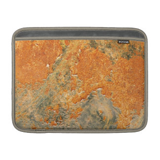 Cool Old Rusted Iron Metal MacBook Sleeve