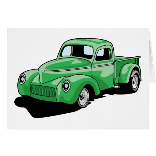 Cool Old Truck Greeting Card