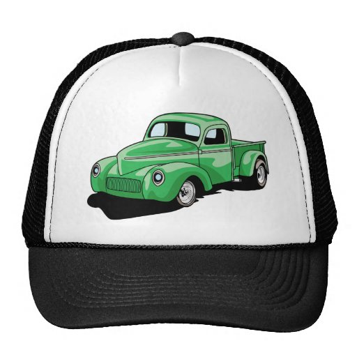 Cool Old Truck Mesh Hats