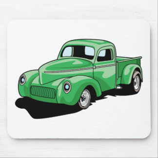 Cool Old Truck Mouse Pad